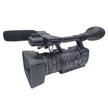 ソニー NXCAMカムコーダー HXR-NX5J 業務用ビデオカメラ 画像