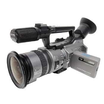 SONY 04年製 DCR-VX2100 MX-3000PRO セミ・魚眼レンズ付き 画像