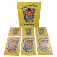 World Family /ワールド・ファミリー 『Zippy and Me DVD3本+CD3枚+冊子7点セット』International Horizons World Family C28-1 中古品 画像