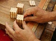 寄木細工の工芸家 画像